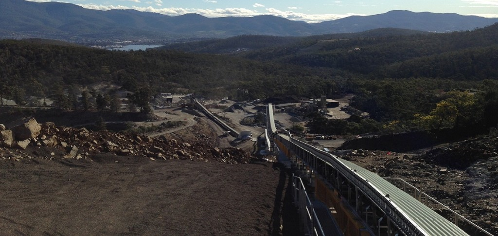 BRS Electrical, with Hansons & Hitech, upgraded the Hansons Hobart Quarry