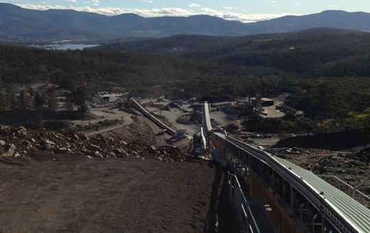 BRS Electrical, with Hansons & Hitech, upgraded the Hansons Hobart Quarry upgrade