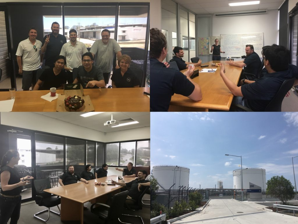 BRS Team had a busy October with site visits, business strategy workshops & of course, cake!